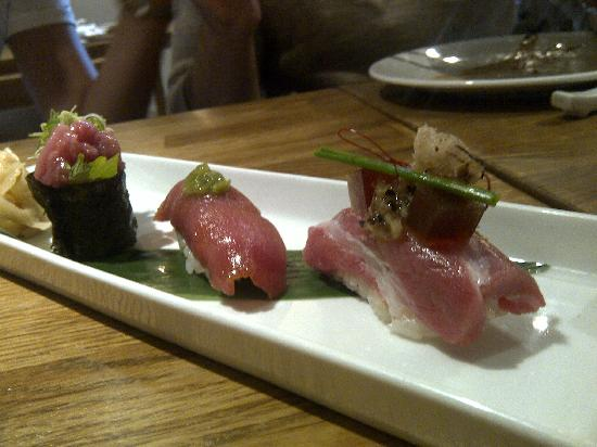 Dinings: Threeway toro