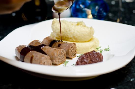 Green Mango Restaurant: Lamb sausage