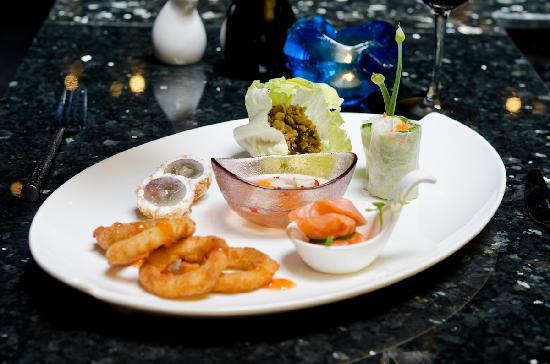 Green Mango Restaurant: Sample of starters
