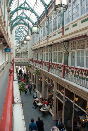 Castle Quarter Arcade: First floor view