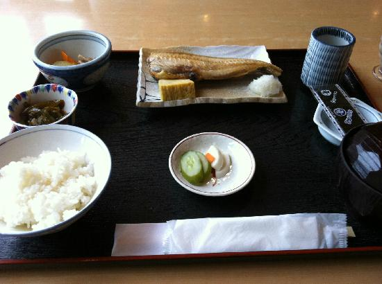 Hotel Sunrise Choshi : Japanese-style Breakfast