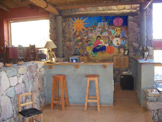 Cerro Chico: Sala de descanso ,ver televicion