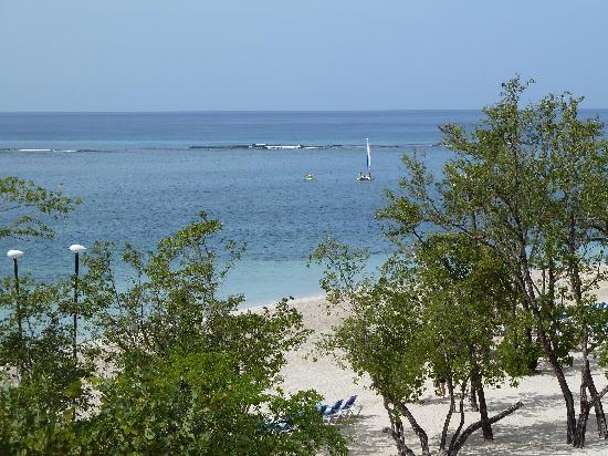 Sandals South Coast: beach view