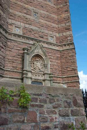 Cabot Tower: Tower detail