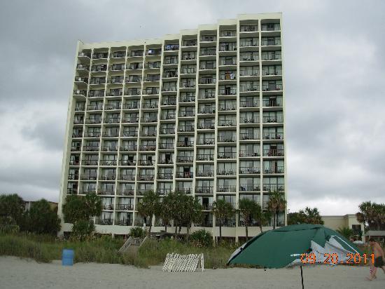 Sea Crest Oceanfront Resort: 14 Floors of Ocean Front Rooms