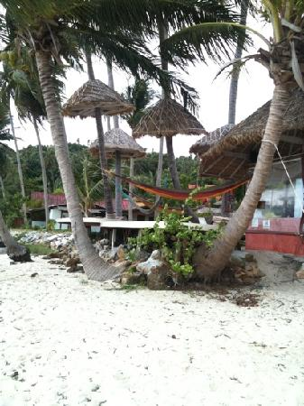 Beck's Resort: lazy corner!