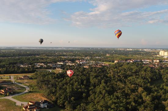 Orlando Balloon Rides: View from above