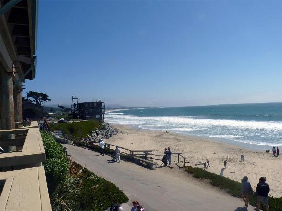 Cypress Inn on Miramar Beach: View south from 2nd floor deck