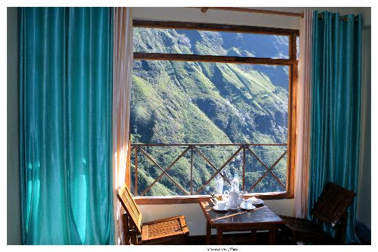 Himalayan Abode Home Stay: view from window
