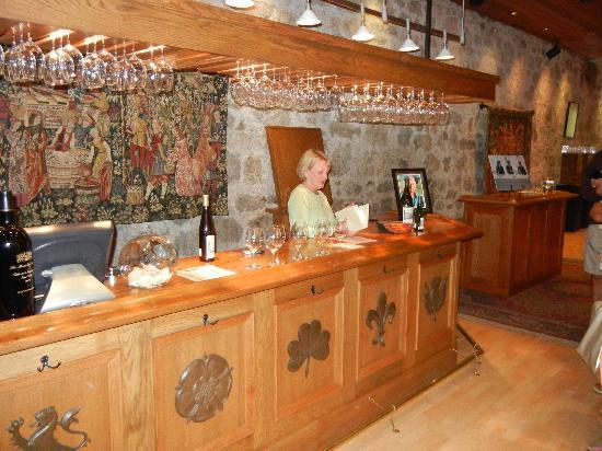 Chateau Montelena: Inside