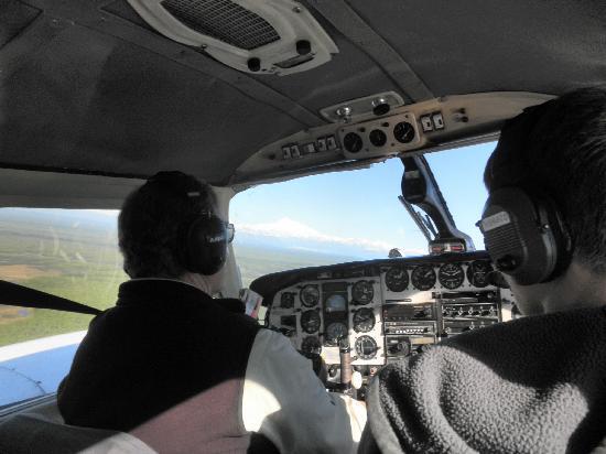 Talkeetna Aero Services: Denali in the distance