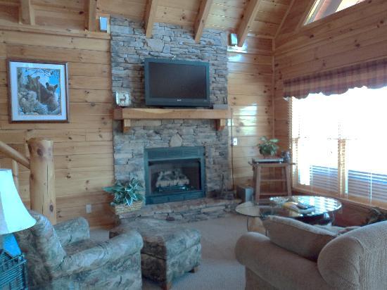 Sherwood Forest Resort: Our Living Room at Lance's Loft