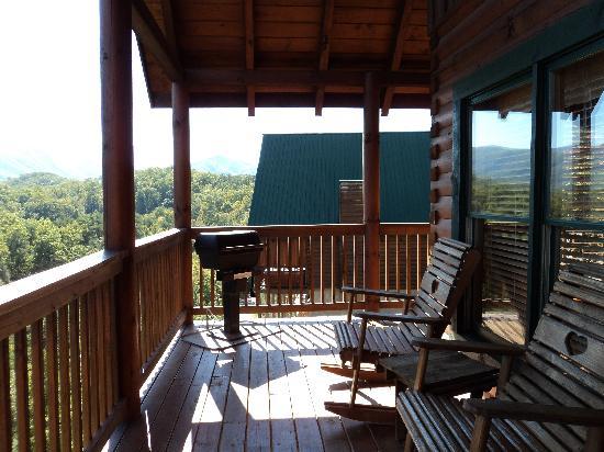 Sherwood Forest Resort: Peaceful Deck