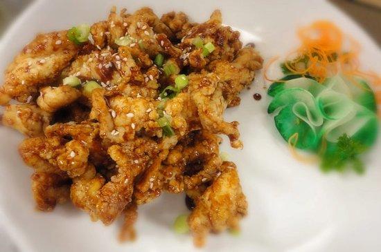 Azan Wok: Plum Chicken