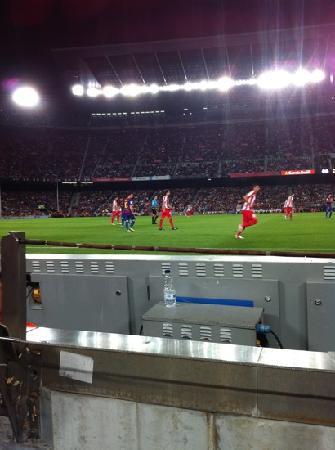 Camp Nou: Barca v Athletico Sept 2011