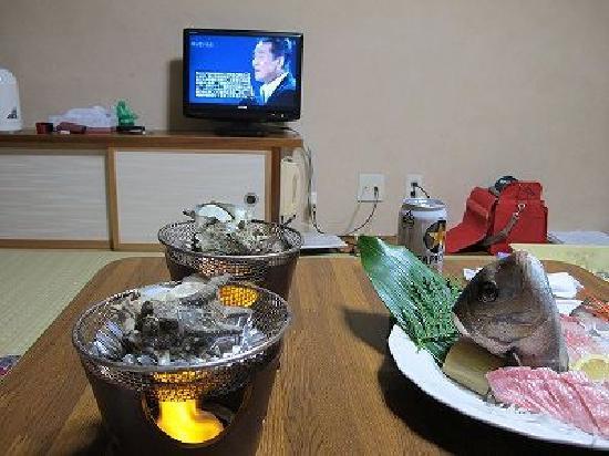 Kaikoen : 民宿で部屋食
