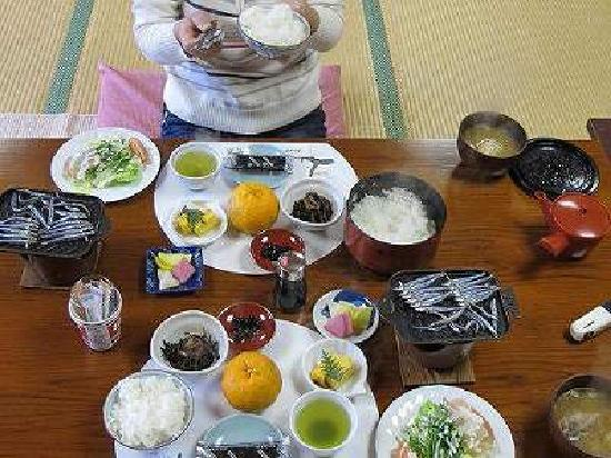 Kaikoen : 朝食