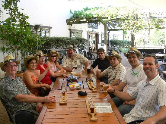 Hunter Valley Wine Tasting Tours: Team Building Day: Sampling Blue Tongue's Beers