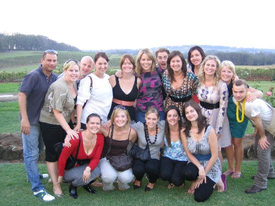 Hunter Valley Wine Tasting Tours: Private Charter: Birthday Group