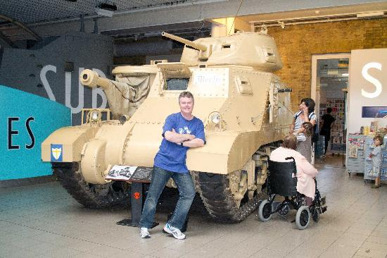 พิพิธภัณฑ์สงครามจักรวรรดิ: Montys Tank