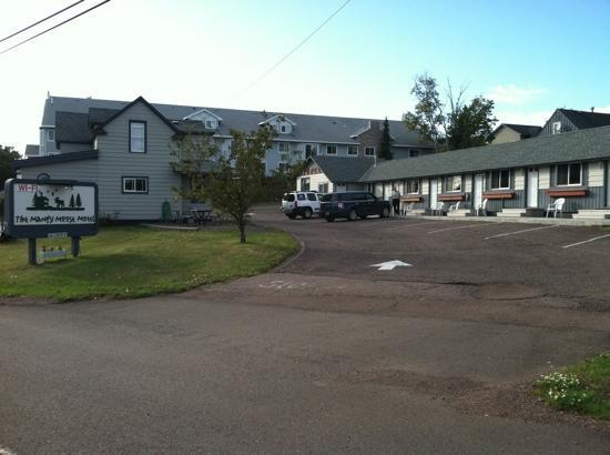 Grand Marais, MN: Mangy Moose Motel