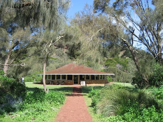 Tower Hill Wildlife Reserve: The Visitor Center