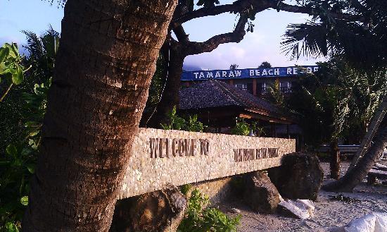 ทามารอว์ บีช รีสอร์ท: Tamaraw resort