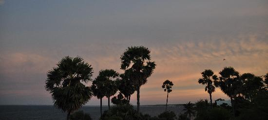 TTDC Tamil Nadu Hotel: View from the roof of the hotel