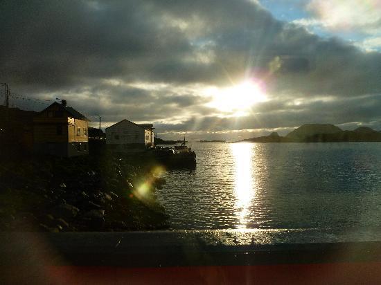 Nordkapp Municipality, นอร์เวย์: Vue sur l'océn glacial artique