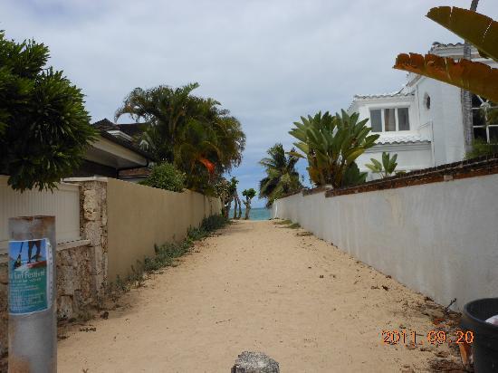 Lanikai Beach: 天国はもうすぐ!