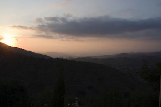Azul Arenas Andalucia: Coucher de soleil depuis les gites