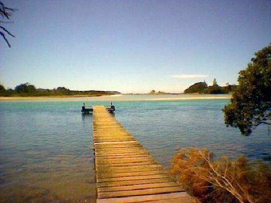 Broulee, ออสเตรเลีย: Tomaga River jetty