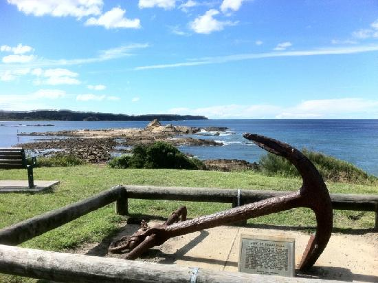 Broulee, ออสเตรเลีย: Burrewarra Point from Mossy Point headland