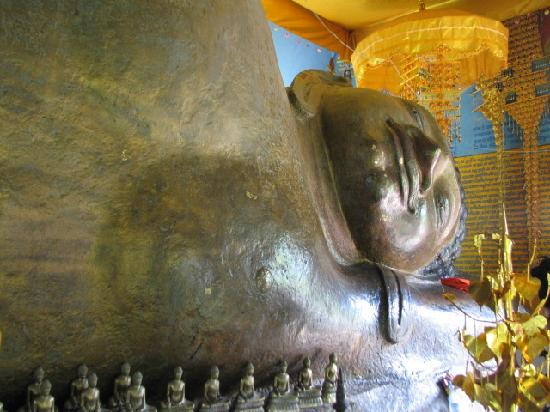 Phnom Kulen National Park: The reclining Buddha