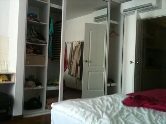 Sunprime Coral Suites: massive wardrobes