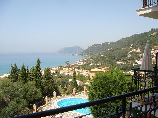 Dina's Paradise Hotel & Apartments: Balcony view