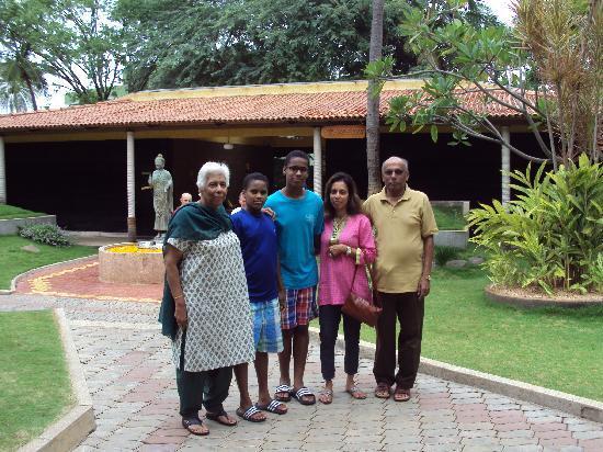 The Windflower Resort & Spa, Mysore: outside the reception area