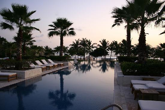 The St. Regis Punta Mita Resort: View from one of three pools