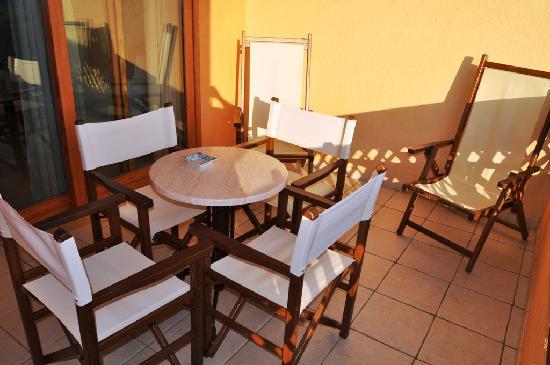Hotel Marinedda Thalasso & SPA: Terrasse