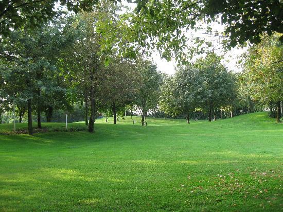 Green Park Villa Boschetti: Il giardino/parco di Villa boschetti e' stupendo