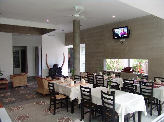 รอยัล แม่โขง บูติค โฮเต็ล: Restaurant