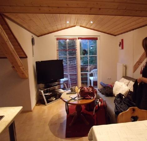 Ferienwohnung Mayer - Casa Patrizia: salón