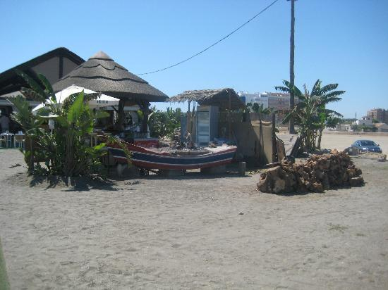 Hotel Palacio Blanco: Beach fish bar