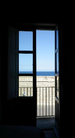 Hotel Gutkowski: vue de notre chambre