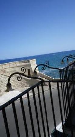 Hotel Gutkowski: vue du balcon
