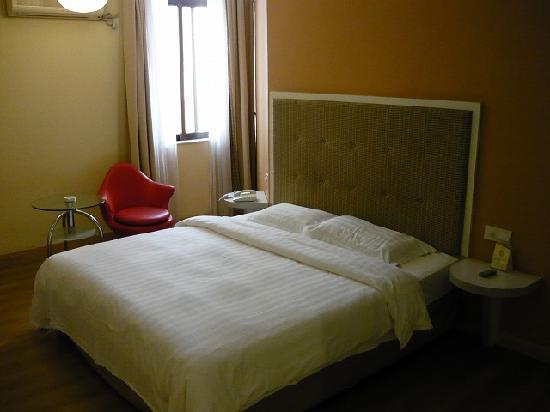 โรงแรมจีดีเอช อินน์ หัวไห่: ベッド