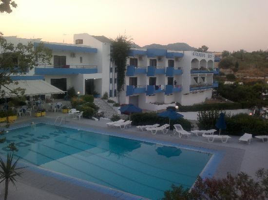 Afandou Sky Hotel: Pool area