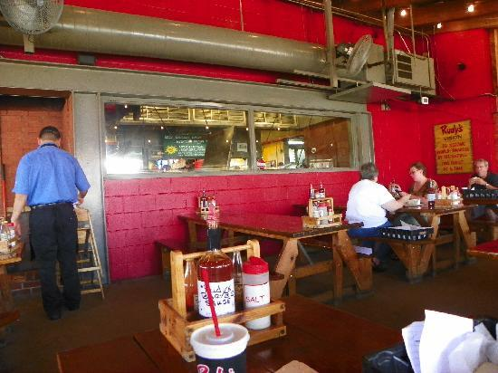 Rudy's Country Store & Bar-B-Q: Inside Rudy's