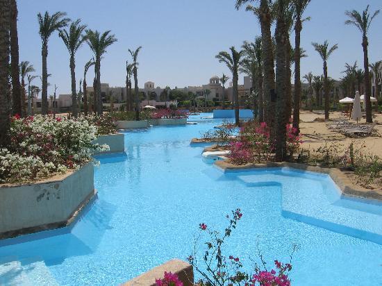 Port Ghalib Resort: La laguna salata