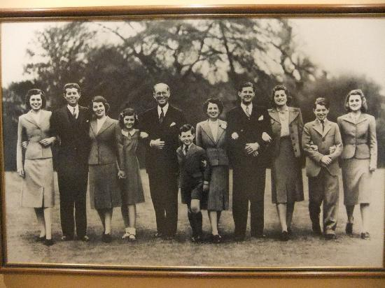 John F. Kennedy Presidential Museum & Library: la famiglia del presidente